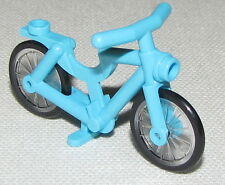 LEGO NEW MEDIUM AZURE BICYCLE BIKE TOWN CITY PART