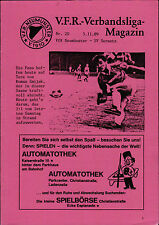 Verbandsliga Schleswig-Holstein 1989/90 VfR Neumünster - SV Sereetz, 05.11.1989