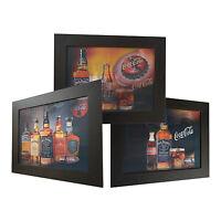 3 Dimension 3D Lenticular Picture Jack Daniel's Bottle Whiskey Glass Coke