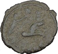 CONSTANTINE I the GREAT 347AD  Ancient Roman Coin Christian Deification  i37498