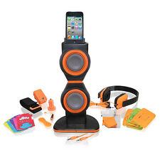 Brand New iCoustic 20 in 1 Accessory Kit for iPod Touch Gen 4 - IC183