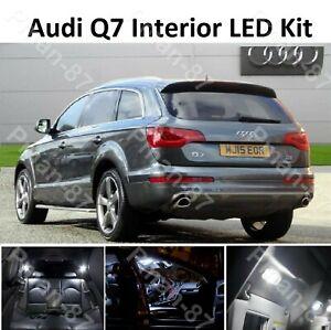 DELUXE for AUDI Q7 INTERIOR CANBUS LED KIT LIGHT BULBS KIT XENON WHITE SMD