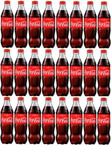 Coca Cola Original Drink 24x 500ml Bottles Best Bef 31st December 20