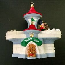 Hallmark Ornament 1991 Toyland Tower Marching Soldier, Magic-Motion Original Box