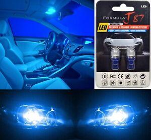 LED 5050 Light Blue 10000K 194 Two Bulbs Rear Side Marker Parking Stock Lamp