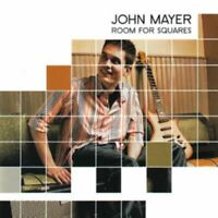 JOHN MAYER room for squares (CD, album, 2001) pop rock, indie rock, very good,