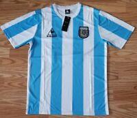 Maradona 10- Argentina Home Retro Jersey- World Cup 1986 Mexico Size XL THE GOAT