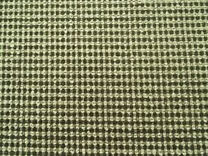 VALDESE GARNET CHARCOAL GRAY TAN CHENILLE UPHOLSTERY FABRIC $9.99/YD BY THE YARD