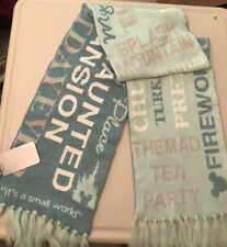 Disney Arendelle Agua Scarf Double Sided My Happy Place Splash Mountain Adult