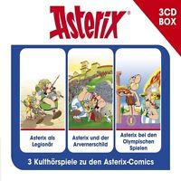 ASTERIX - 3-CD HÖRSPIELBOX VOL.4   3 CD NEU