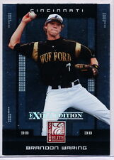 2008 DONRUSS ELITE EXTRA EDITION #12 BRANDON WARING RC - CINCINNATI REDS