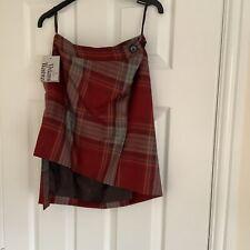 vivienne westwood bnwt Tarten Skirt Size 8/  40