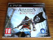 Assassins Creed IV (4) Bandera Negra Promo – PS3 ~ NUEVO (COMPLETO juego promocional)