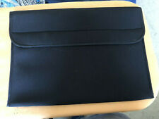 New Black Pouch 12 X 16 With Valco can carry and protect a laptop for travel