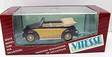 1949 Volkswagen Cabrio 1/43 Vitesse 410 Portugal MB