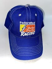 Federated Auto Parts Racing Track Pass Cap Hat Trucker