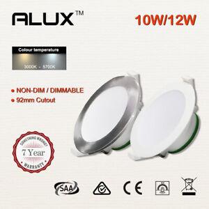 Led Downlight 10W 12W Non-dim/DIM Lights 92mm Cutout Warm White /Cool White IP44