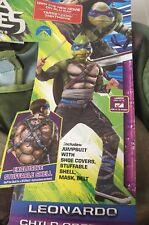 Leonardo Teenage Mutant Ninja Turtles Deluxe Costume Rubies Large 12-14 Cosplay