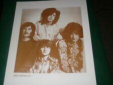 1994 - Led Zeppelin - 11 x 14 Sepia Print