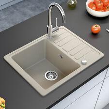 BERGSTROEM granito fregadero cocina desagüe lavadero 575x460 beige