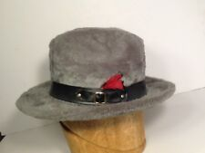 Vintage Hat Vintage Fedora Fur Vintage Dobbs Hat Rare Fur siz 6-7/8