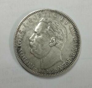 1882 Portugese India Uma Rupia
