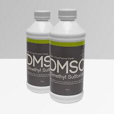 Buy 1 get 1 FREE  Pharma Grade 99.995% Odor Free DMSO 16oz* Fast Free Shipping *