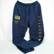 Under Armour Freedom Project Rock Respect Warm Up Sweatpants Veterans Day sz 3xl
