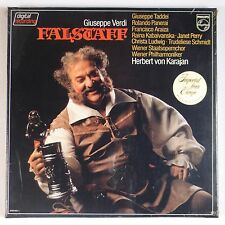 VERDI: Falstaff SEALED Philips DIGITAL Audiophile KARAJAN Rare LP Import