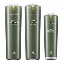 Nature Republic Snail Solution Skin Booster Emulsion Essence Package Skin Care