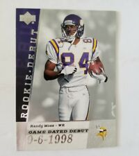 2006 Upper Deck Rookie Debut Game Dated #GDDRM Randy Moss NR.MT TO MINT VIKINGS