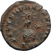 CONSTANTIUS II Genuine 348AD Antioch Authentic Ancient Roman Coin PHOENIX i67111