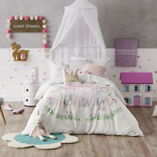 Adairs Kids Winter Castle Queen Quilt Cover Set BNIB - RRP $149.99