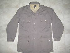 WILLIS & GEIGER Army Military Hunting Safari Jacket Large Coat XL TALL USED