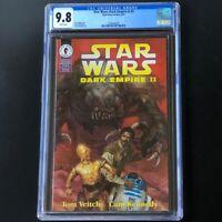 Star Wars Dark Empire II #5 (1995) 🔥 CGC 9.8 🔥 Jacen & Jaina Dark Horse Comics