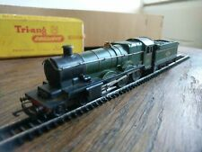 TRIANG TT WINDSOR CASTLE T91/T92 STEAM LOCOMOTIVE WITH METAL HAND RAIL,