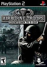 Airborne Troops Countdown to D-Day PlayStation 2 NEW factory sealed PS2