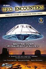 """Atlantis Monument Valley UFO  Lighted  1007 Plastic Model 5"""" Kit"""