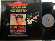 Gay Purr-ee  (Soundtrack) (W.B.) (Judy Garland,Robert Goulet,Red Buttons) (Mono)