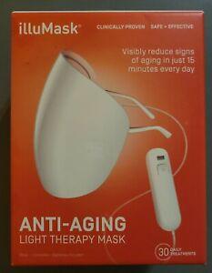 illuMask Anti-Aging Light Therapy Mask. Sealed Box