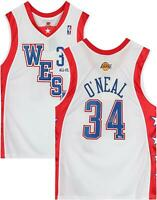 Shaquille O'Neal LA Lakers Signed M&N 2004 All-Star Hardwood Classic Jersey