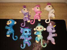 Lot of 7 - WOwWee Fingerlings Interactive Baby Monkeys