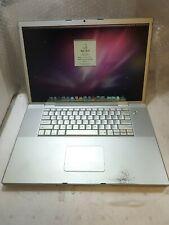 "- (AS IS) Apple MacBook Pro 17"" A1151 W/ 2.16GHz CPU /2GB RAM /320GB HDD/NO AC"