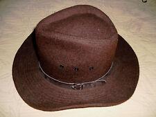chapeau homme style feutre chapeau mou taille 58 vintage nestor burma