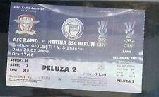 TICKET Rapid Bucharest-Hertha BSC Berlino