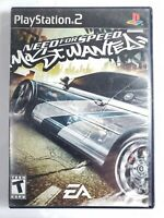 NEED FOR SPEED MOST WANTED PS2 BLACK LABEL TESTED-WORKS W/ MANUAL
