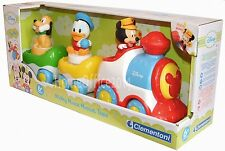 Disney Mickey Mouse Baby Musical Train Set Toy New Age 6 Months Plus