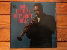 John Coltrane - My Favorite Things 1961 Atlantic 1361 Mono Jacket VG Vinyl NM-