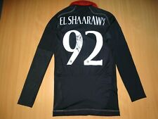 AC MILAN ITALY #92 ELSHAARAWY 2012/2013 THIRD SHIRT JERSEY ADIDAS TECHFIT LONG