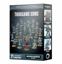 THOUSAND SONS Start collecting Collecting! Warhammer 40K NEW